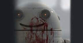 Blinky the killer robot