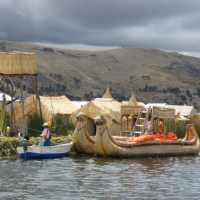 the Uros of Lake Titicaca