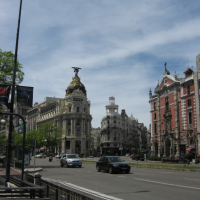 city with historic structures