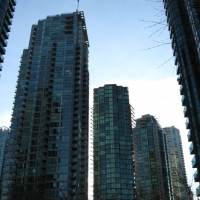 apartment towers