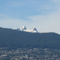 snowy Lions of North Shore Mountains